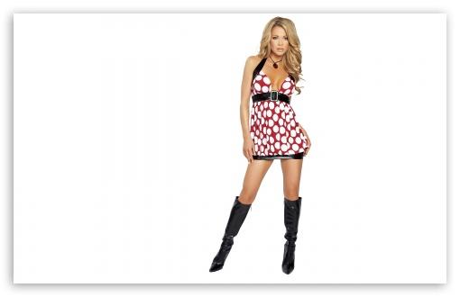 Download Hot Girl In Boots UltraHD Wallpaper