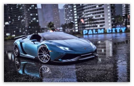 Download Need for Speed Heat Lamborghini UltraHD Wallpaper