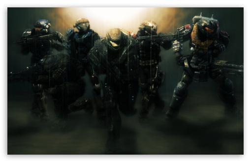 Download Halo Reach Noble Team UltraHD Wallpaper