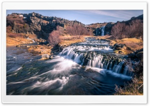 Gjain small waterfalls, Iceland