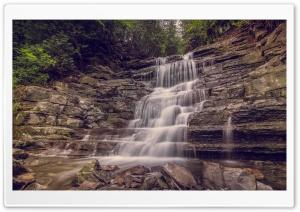 Waterfall, Ottawa, Ontario,...