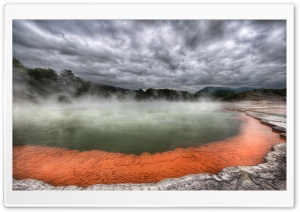 Hot Spring Nature