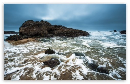 Download Pescadero State Beach UltraHD Wallpaper
