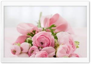 Pink Flowers Bridal Bouquet