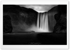 Beautiful Skogafoss...