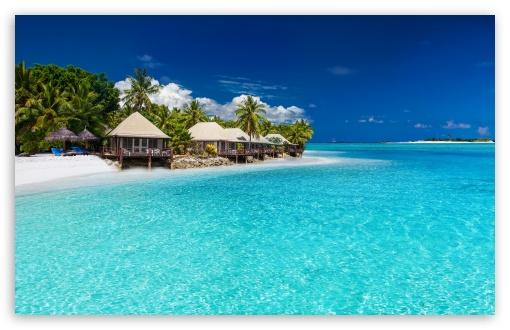 Download Tropical Landscape Little Paradise UltraHD Wallpaper