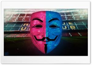 FC Barcelona Anonymous Mask...