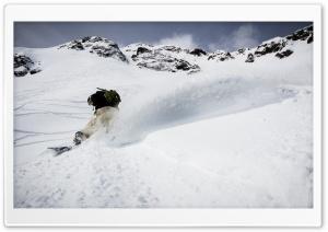 Snowboarding Silverton...