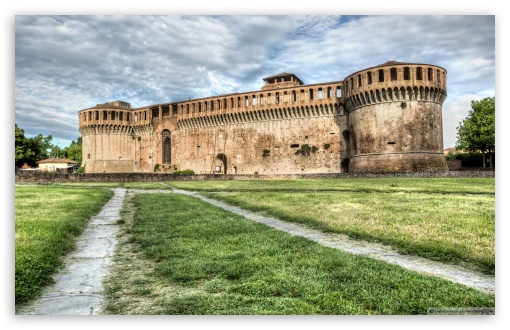 Download The Rocca Sforzesca of Imola Italy UltraHD Wallpaper