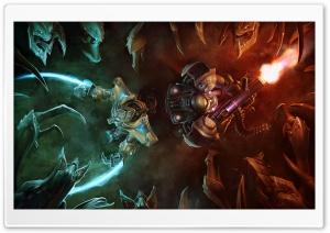 Zerg Ambush vs. Terran And...