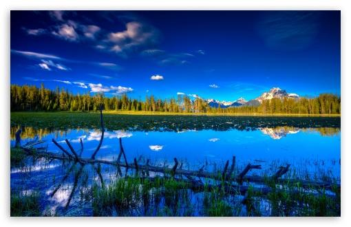 Download Blue Landscape UltraHD Wallpaper