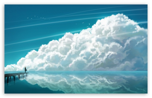 Download Sky Clouds UltraHD Wallpaper