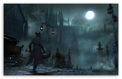 Download Bloodborne 2015 Game Screenshot UltraHD Wallpaper