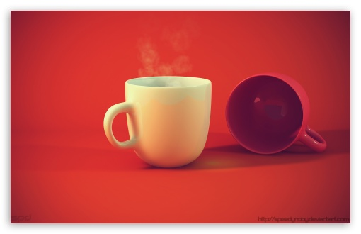 Download Hot Coffee UltraHD Wallpaper
