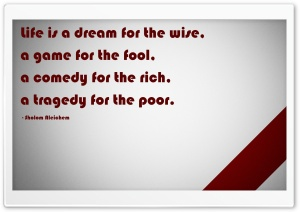 Quote Red White