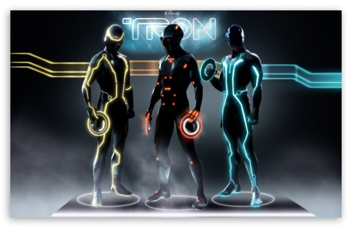 Download Disney's Tron Legacy UltraHD Wallpaper