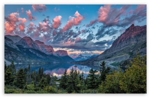 Download Wild Goose Island, Glacier National Park,... UltraHD Wallpaper