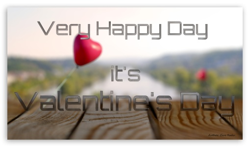 Download Its Valentines Day UltraHD Wallpaper