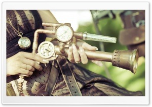 A Steampunk Themed Photo