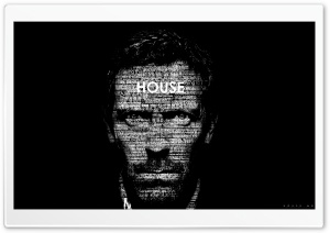 Dr. House Typography