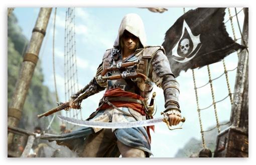 Download Assassins Creed IV Black Flag UltraHD Wallpaper