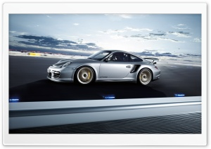 Porsche 911 At Dawn