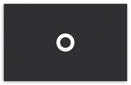 Download Minimalistic Circle UltraHD Wallpaper