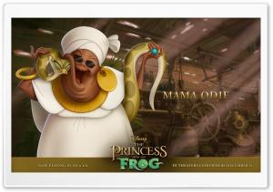Princess And The Frog Mama Odie
