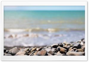 Gravel On A Beach