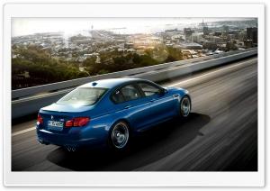 BMW M5 Blue Ride
