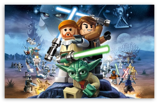 Download Star Wars Lego UltraHD Wallpaper