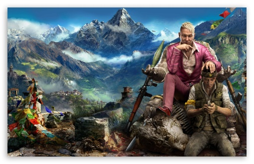 Download Far Cry 4 Himalaya UltraHD Wallpaper