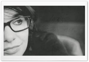 Vintage Portrait Black And White