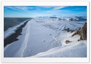 Black Sand Beach, Vik,...