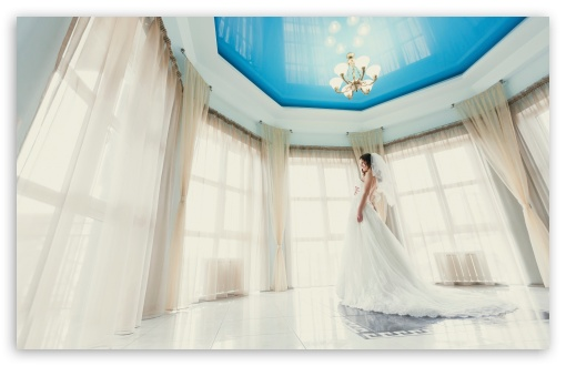 Download Bride UltraHD Wallpaper