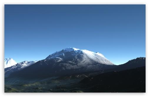 Download High Mountains 3D UltraHD Wallpaper