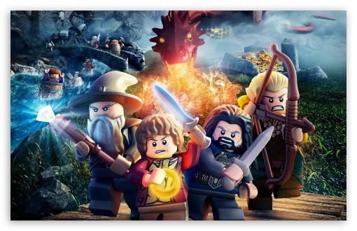 Download Lego The Hobbit 2014 (video game) UltraHD Wallpaper