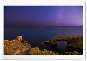 Calm Sea Under The Milkyway