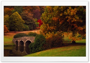 Bridge, Stourhead, Wiltshire,...