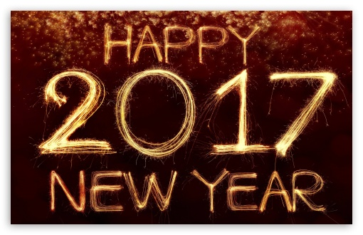 Download Happy New Year 2017 UltraHD Wallpaper