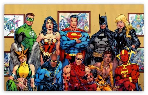 Download DC Comics Superheroes UltraHD Wallpaper