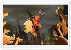 Gingerbread Man, Shrek The...