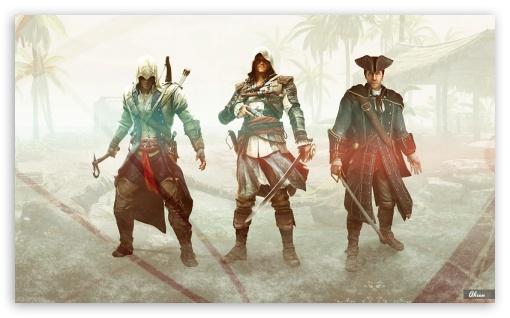 Download The Kenways - Assassins Creed UltraHD Wallpaper