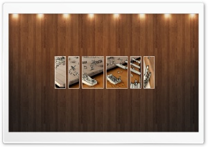 Drawing Picture   Wood Wall