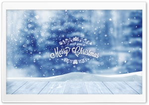 I wish you a Merry Christmas...