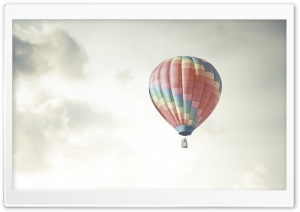 Colorful Hot Air Balloon In...