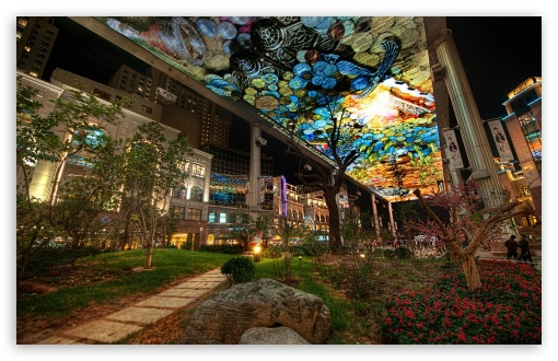 Download Urban Architecture UltraHD Wallpaper