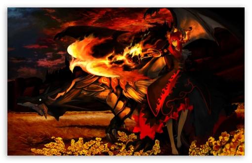 Download Phoenix Flame UltraHD Wallpaper
