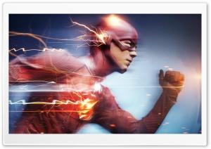 Flash Superhero Running