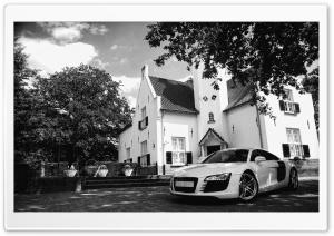 Black And White Audi R8